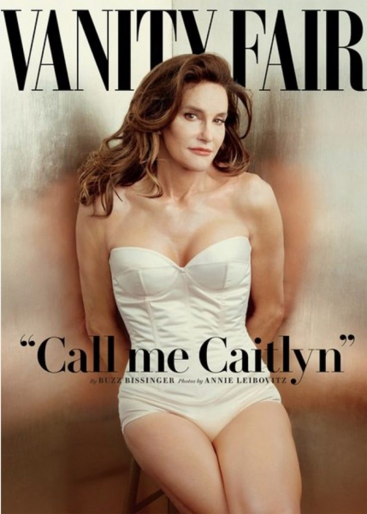 vivre trans - Caitlyn Jenner pour Vanity Fair© Vanity Fair:Annie Leibovitz 2015