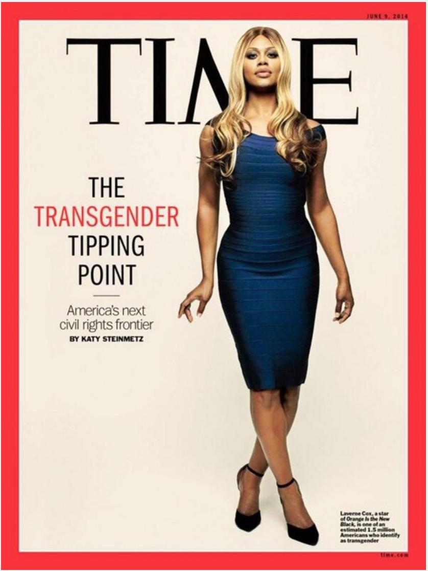 vivre trans - Laverne Cox en une du Time© Time 2014